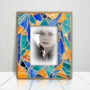 Blue Orange Frame