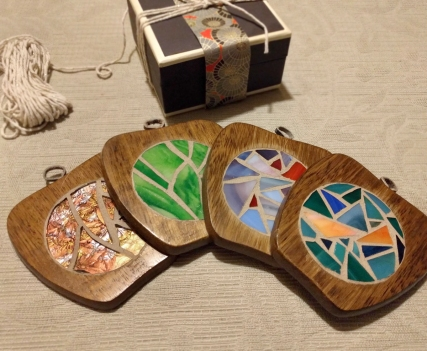 Wooden Apples - upcycled